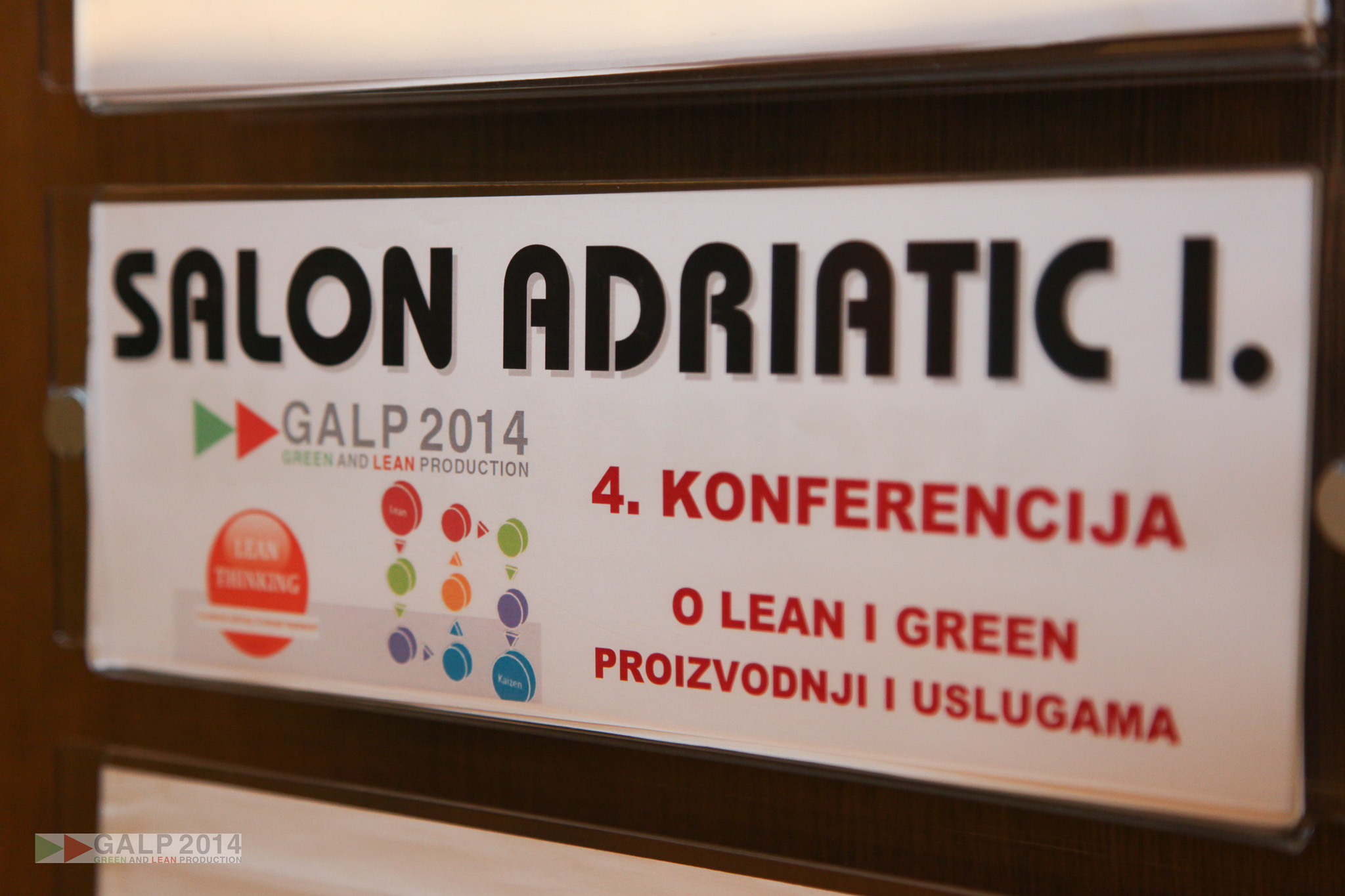 Green and Lean Production (GALP) 2014